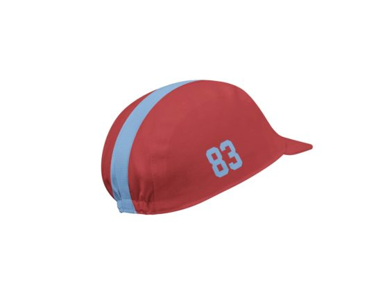 Follow me red cycling cap