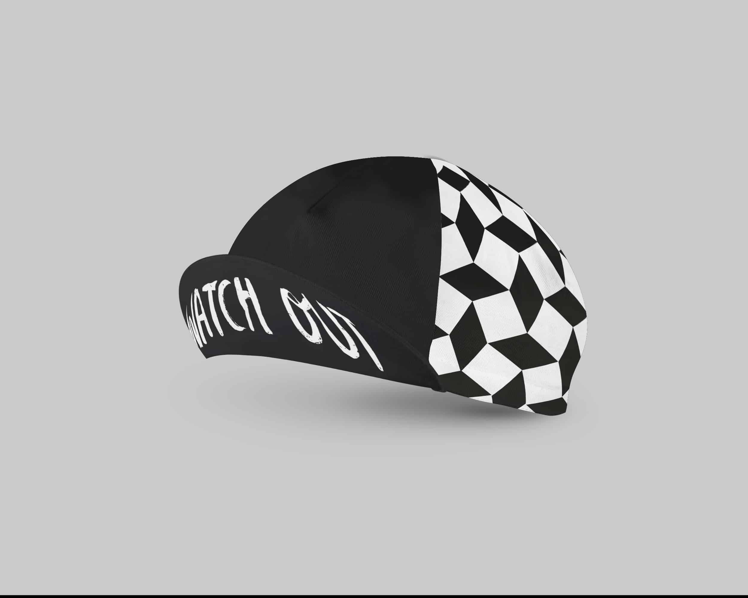 Watch out cycling cap