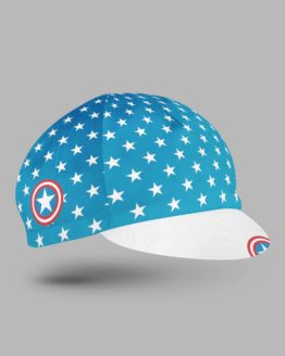 Captain blue cycling cap