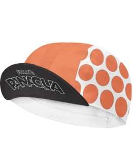 PanAqua orange cycling cap