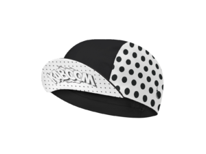 CYCLING CAP B&W